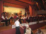 Blasorchester Salinia beim Jubiläumskonzert 2005